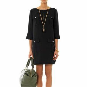 Diane von Furstenberg Agness Crepe Pocket Dress